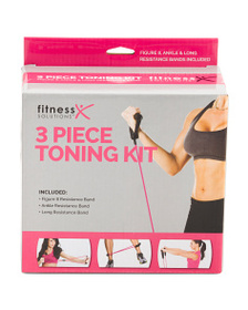 FITNESS SOLUTIONS 3pc Band Set