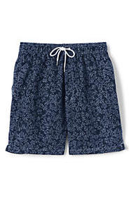 "Lands End Men's 8"" Print Volley Swim Trunks"