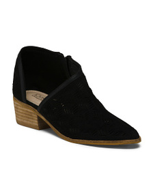CATHERINE BY CATHERINE MALANDRINO Cut Out Booties