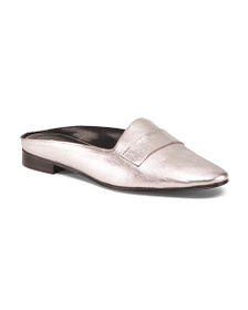 CHARLES DAVID Made In Italy Leather Mules