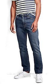 Lands End Men's Slim Fit Jeans