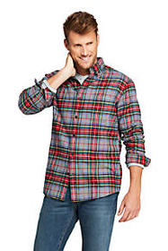 Lands End Men's Flagship Flannel Shirt