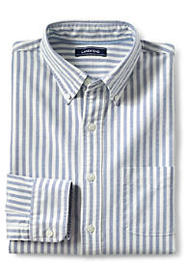 Lands End Men's Buttondown Collar Sail Rigger Oxfo
