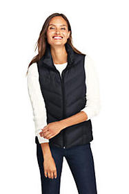 Lands End Women's Down Puffer Vest