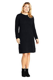 Lands End Women's Plus Size Long Sleeve Roll Neck