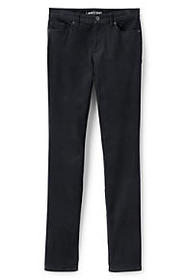 Lands End Women's Mid Rise Slim Leg Corduroy Pants