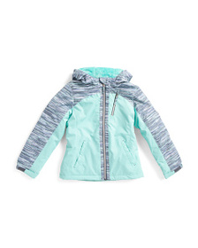 FREE COUNTRY Big Girls Water Resistant Boarder Jac