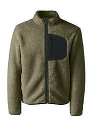 Lands End Men's Sherpa Fleece Jacket