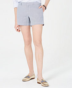 Tommy Hilfiger Striped Chino Shorts, Created for M
