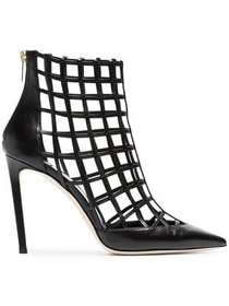 Jimmy Choo Sheldon 100 caged heels