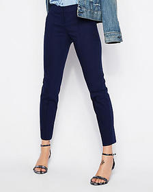 Express low rise ankle pintuck columnist pant