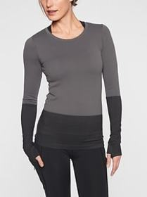 Flurry Colorblock Base Layer Top