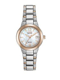 Citizen Ladies Eco-Drive Two-Tone Watch TWO TONE