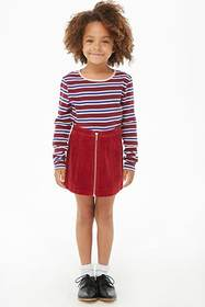 Forever21 Girls Striped Knit Top (Kids)
