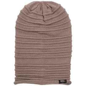 Woolrich Slouch Knit Beanie (For Men) in Brown - C