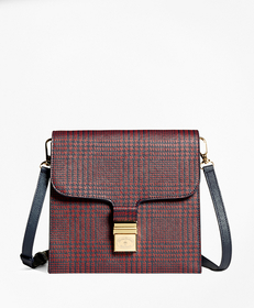 Brooks Brothers Leather Crossbody Bag