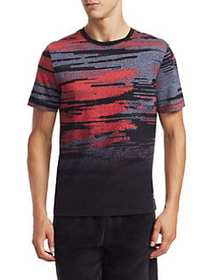 Madison Supply All-Over Print T-Shirt RED PRINT
