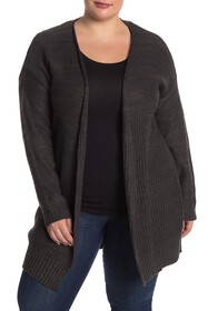 Modern Designer Mixed Stitch Shaker Cardigan (Plus