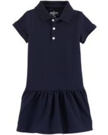 Osh Kosh Toddler GirlPique Uniform Dress
