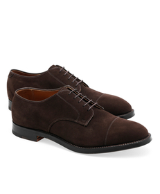 Brooks Brothers Captoe Suede Bluchers