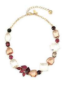 Kate Spade New York Rock It Necklace PINK