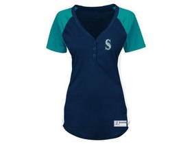 Seattle Mariners Majestic MLB Women's League Diva