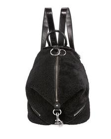 Rebecca Minkoff Julian Shearling Zip Backpack