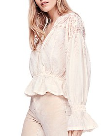 Free People - Counting Stars Embroidered Crossover