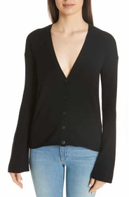 Theory Bell Sleeve Cashmere Cardigan Theory Bell S