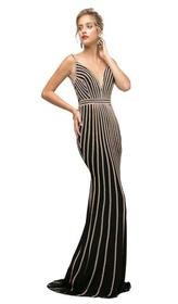 Cinderella Divine - UK017 Gold Beaded Stripe Sheat