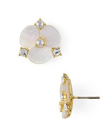 kate spade new york - Mother-of-Pearl Floral Stud