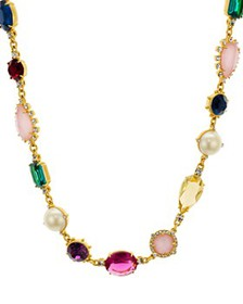 """kate spade new york - Mixed Stone Necklace, 16"""""""