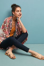 Anthropologie AG The Abbey Mid-Rise Skinny Ankle J