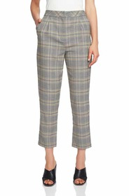 1.STATE Menswear Plaid Taper Ankle Pants 1.STATE M