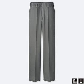 WOMEN U COTTON STRAIGHT PANTS