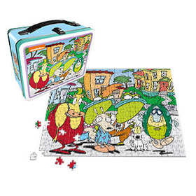 Rocko's Modern Life Lunch Box with 500pc Puzzle -