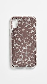 Kate Spade New York Floret Clear iPhone XS / X Cas