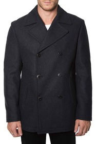 7 Diamonds Seville Double Breasted Peacoat