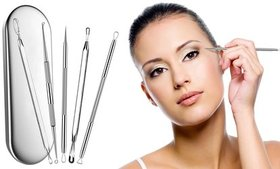 Blackhead and Blemish Remover Tools (5-Piece)