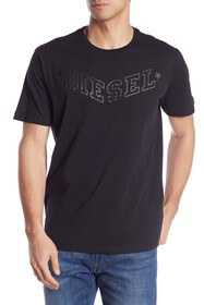 Diesel Crew Neck Graphic T-Shirt