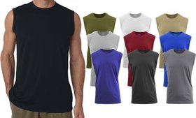 Men's Muscle Tank Top (5-Pack) (S-5X)