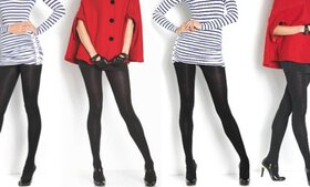 Women's Fleece-Lined Warm Breathable Tights (4-Pac
