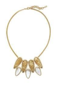 Cole Haan Multi Stone Chunky Pendant Necklace