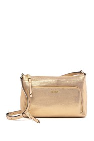 Calvin Klein Lily Key Item Dusted Suede Crossbody