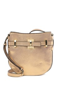 Calvin Klein Faye Dusted Suede Messenger