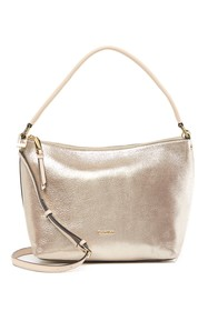 Calvin Klein Angelina Dusted Suede Hobo