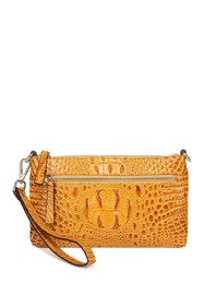 Vicenzo Leather Daci Croc Embossed Leather Crossbo