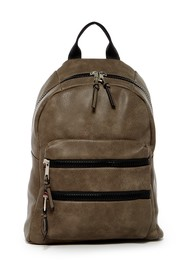 SR SQUARED BY SONDRA ROBERTS Double Zipper Backpac