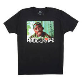Young Mens Short Sleeve Poetic Justice Movie Tee