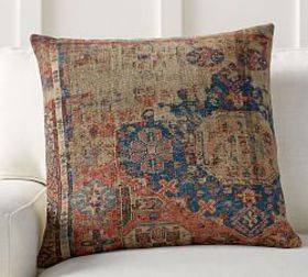 Pottery Barn Navin Print Pillow Cover
